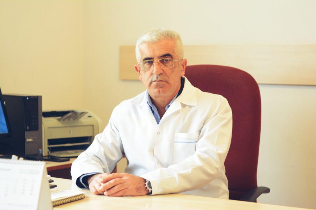 Yeghegnadzor MC's doctor Karen Asatryan